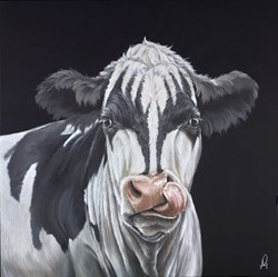The Demon by Hayley Goodhead -  sized 24x24 inches. Available from Whitewall Galleries